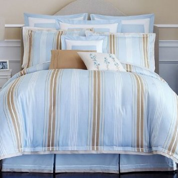 Liz Claiborne Hailey Stripe Queen Comforter Set