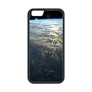 """ZLGU(RM) Iphone6 4.7"""" Case with Beautiful Clouds From Space Custom Case, DIY Cover Case"""