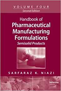 Handbook of pharmaceutical manufacturing formulations pdf