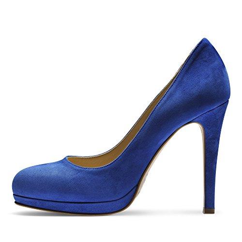 Cristina Mujer Pumps rauleder azul real
