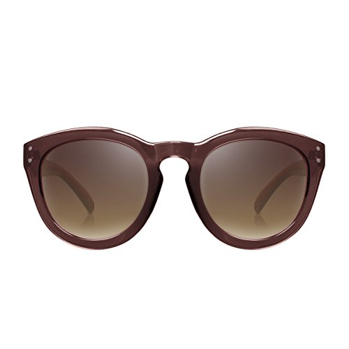 PERVERSE sunglasses Sugar Oval Sunglasses (Brown, - Sugar & Sunglasses