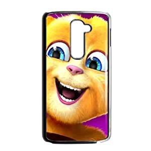 Talking Ginger, a cat LG G2 Cell Phone Case Black Tosmd