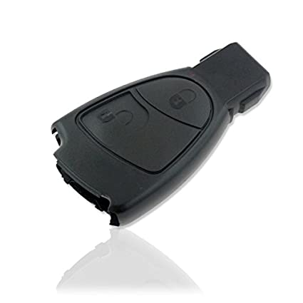 Funda carcasa mando llave coche para mercedes 2 botones CE CLS CLK CL SLK