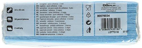 2veli 33x33 X50 Azzurri Azzurro Tovaglioli 5d7Ow5