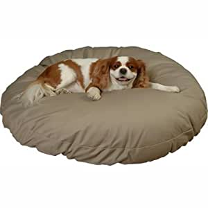 Amazon.com: Snoozer Round Pillow Washable And Zippered Cover Dog / Pet Bed - Extra Large, Color ...