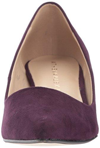 Teague Athena Purple Pump Dress Alexander Women's Suede wqEqH6Oc