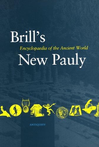 Antiquity, Bulk 8 (Lyd -Mine) (Brill's New Pauly, 8)