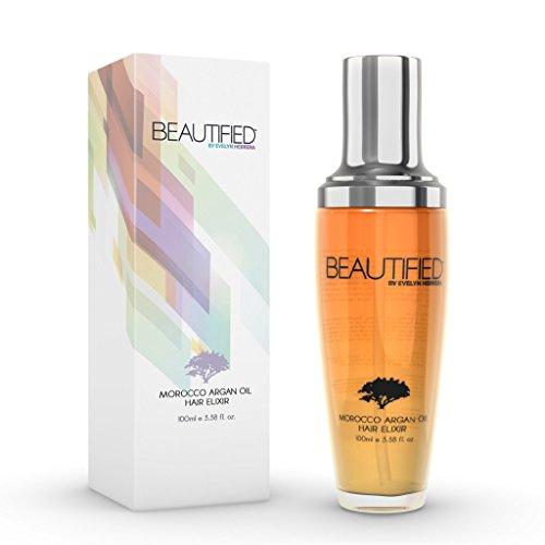 Beautified Argan oil 100ml bottle, for healthy, beautiful hair. Productos Para El Cabello
