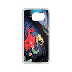 Chaap And High Quality Phone Case For Samsung Galaxy S6 -Mermaid And Ocean Pattern-LiShuangD Store Case 6