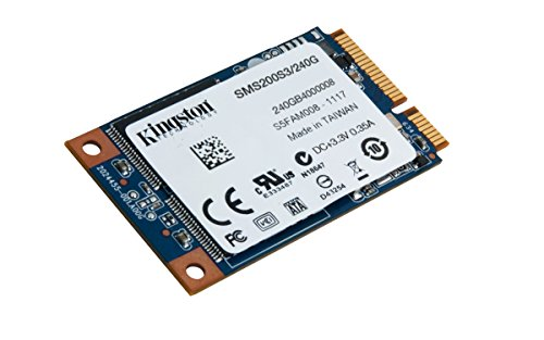 Kingston Digital 2-Inch 240GB SSDNow mS200 mSATA (6Gbps) Solid State Drive for Notebooks Tablets and Ultrabooks SMS200S3/240G by Kingston (Image #1)