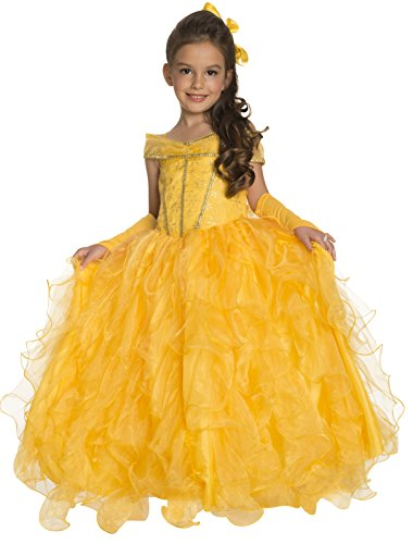 Rubie's Deluxe Princess Jessica Costume, Yellow, Medium