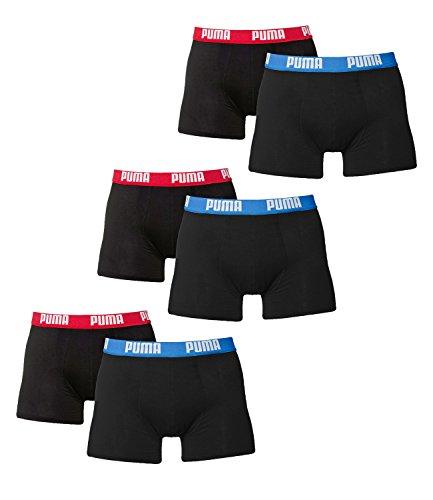 Pugile Base Colori Blu Mutande Rosso In 6 Uomo Di Puma Molti Pacco Boxer 65A4wxntq