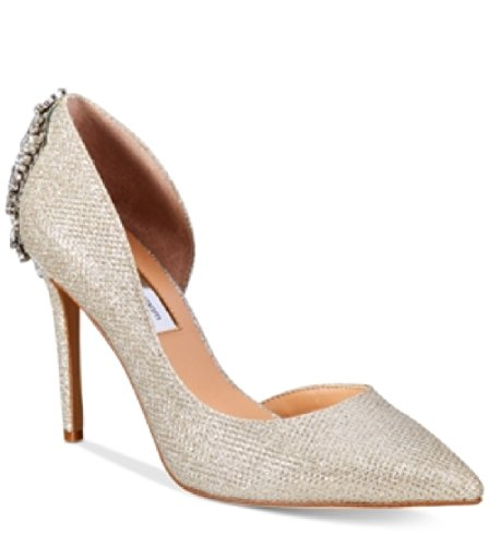 Dor Champagne (INC International Concepts Womens Kesya Embellished dOr Champagne Size 5 M US)