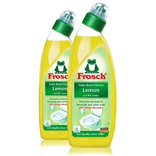 Frosch Lemon Toilet Bowl Cleaner, 750 ml (2) ()