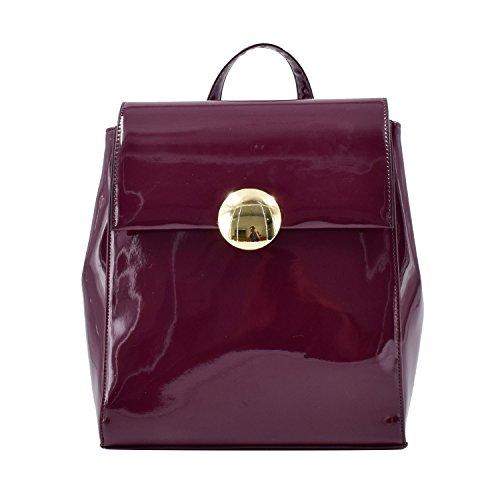 (ESA Fashion Backpack Medium for Women Vegan Leather School Satchel Purse Knapsack Bag)