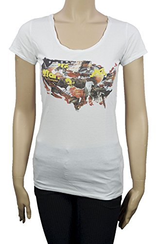 Wrangler Damen T-Shirt W7220EV12 Billie S/S T V12 White