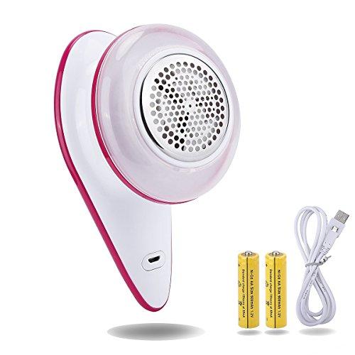scheam rase-peluche électrique Lint Remover, USB rechargeable tissu Fluff Remover Shaver pour moquette vêtements Pull canapé