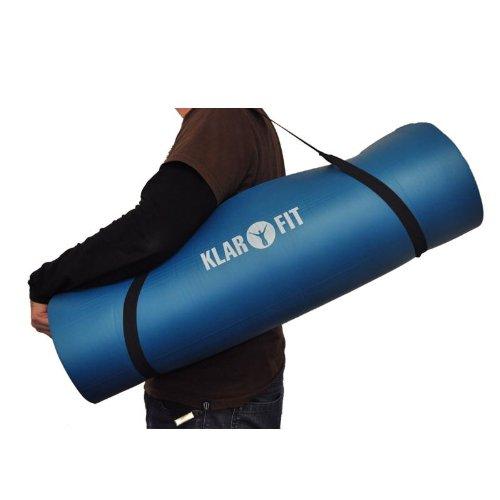 Klarfit estera gimnasia yoga 190x80cm 15mm azul