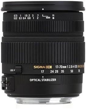 Sigma 17 – 70 mm f/2.8 – 4 DC Macro OS HSM objetivo para Canon ...