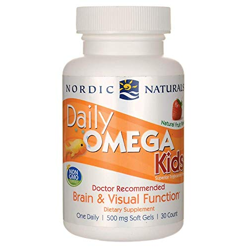 Nordic Naturals - Daily Omega Kids, Healthy Heart Support, 30 Soft Gels