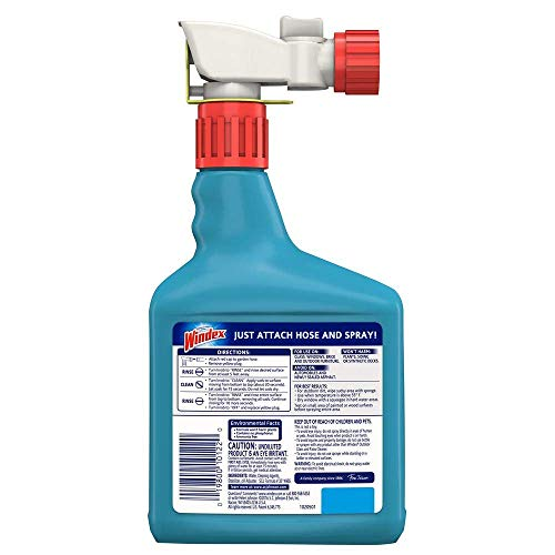 Windex VDLDGJAS Outdoor Glass & Patio Cleaner, 2 Pack of 32 oz by Windex (Image #2)
