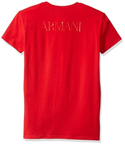 Emporio Armani Herren T-Shirt Gr. XL, Rot