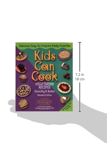 Kids Can Cook: Vegetarian Recipes Kitchen-Tested by Kids for Kids by Book Publishing Company (TN) (Image #2)