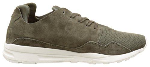 Le Coq Sportif Unisex-Erwachsene LCS R Pure Mono Luxe Sneakers Grün (Olive Night)