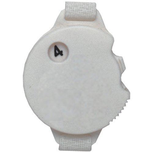 Counter Golf Stroke (Daft Golfer Golf Stroke Counter with Glove Fastener Strap (4-Pack))