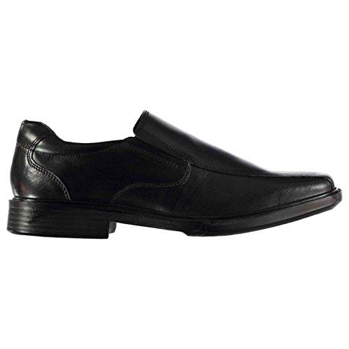 Kangol Kids Boys Castor Slip On Shoes Junior Padded Ankle Collar Small Heel Black UK 6 - Uk Kangol
