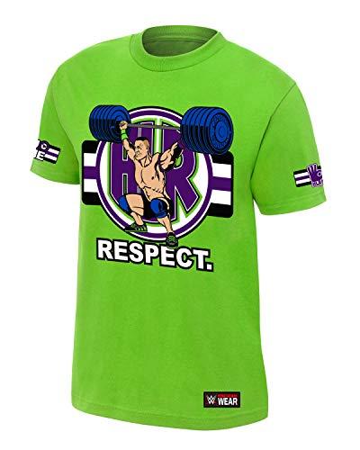 (John Cena Cenation Respect T-Shirt Lime Green Small)