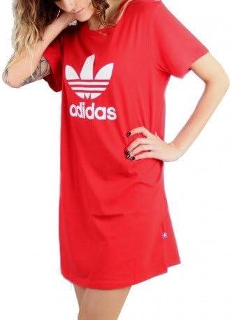 robe tshirt adidas rouge
