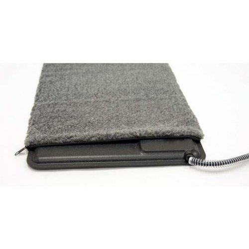 K&H Pet Products Deluxe Lectro-Kennel Cover Large Gray 22.5