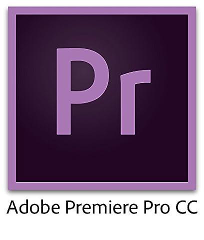 Adobe Premiere Pro CC | Prepaid 12 Month Subscription (Download) (Cc Photoshop)