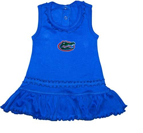 - University of Florida Gators Ruffled Tank Top Dress with Bloomer Set Blue