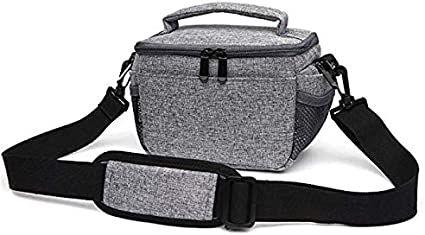 SHZJZ-BP Camera Bag Wear-Resistant Camera Bag Waterproof SLR Bag with A Shoulder Diagonal Take It on A Long Journey