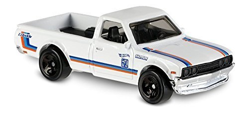 Datsun Truck (Hot Wheels 2017 HW Hot Trucks Datsun 620 181/365, White)