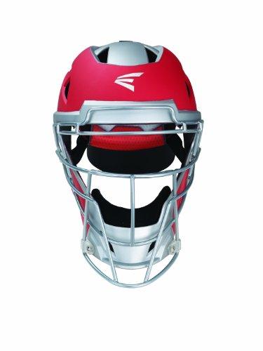 Easton MAKO Catchers Helmet, Red, Large