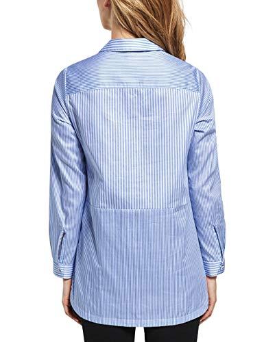 Cecil Blue cornflower Para 21598 Multicolor Mujer Blusa 4qF1S4