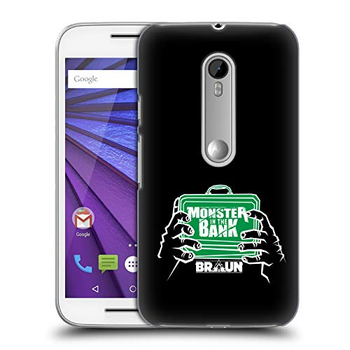 Official WWE Braun Strowman Monster in The Bank 2018/19 Superstars 4 Hard Back Case for Motorola Moto G (3rd - Case Moto Monster G
