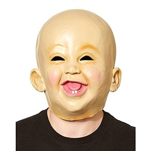 Costume Beautiful Happy Baby Mask (Happy Skeleton Costume)