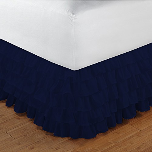 split king adjustable bed skirt - 9