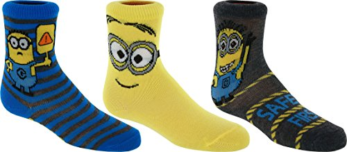 Despicable Me Minions Crew Socks