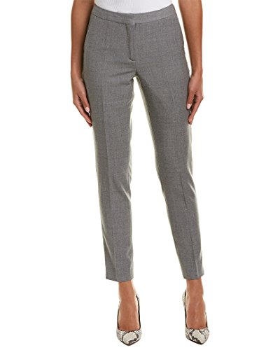 Reiss Womens Austin Tailored Wool Trouser, 4, (Tab Front Wool Trousers)