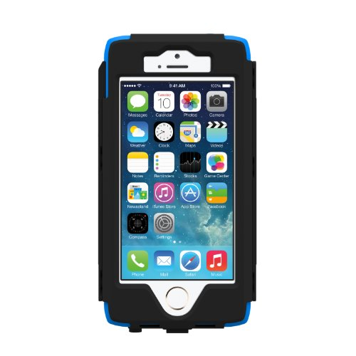 TRIDENT - Étuis / Coques - Trident Kraken AMS Case Bleu - Etui antichocs pour iPhone 5 / 5s