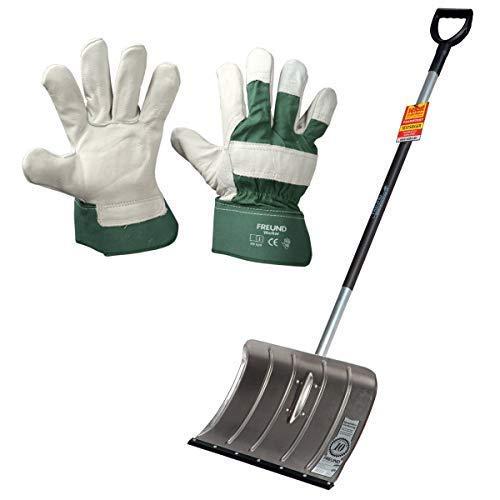 Handschuhe Worker Alu-Schneeschieber mit Fl/üsterkante inkl Freund-Victoria