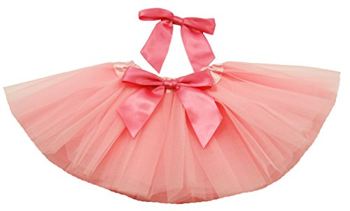 Baby Pink Infant Tutu & Bow Set (0-24 Months)