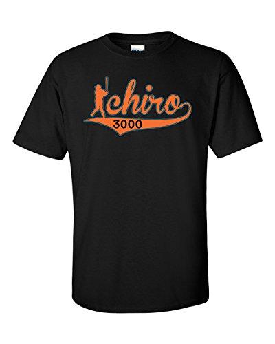 "The Silo BLACK Miami Ichiro ""3000"" T-Shirt YOUTH"