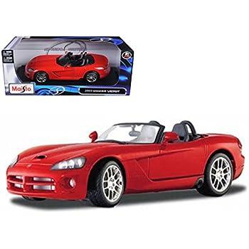 Maisto 2003 Dodge Viper SRT-10 Red 1/18 Model Car