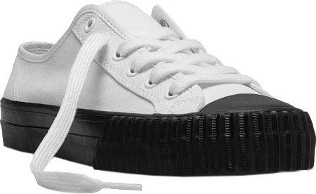 PF Flyers Men's Center LO Mono Fashion Sneaker, White, 8.5 D US
